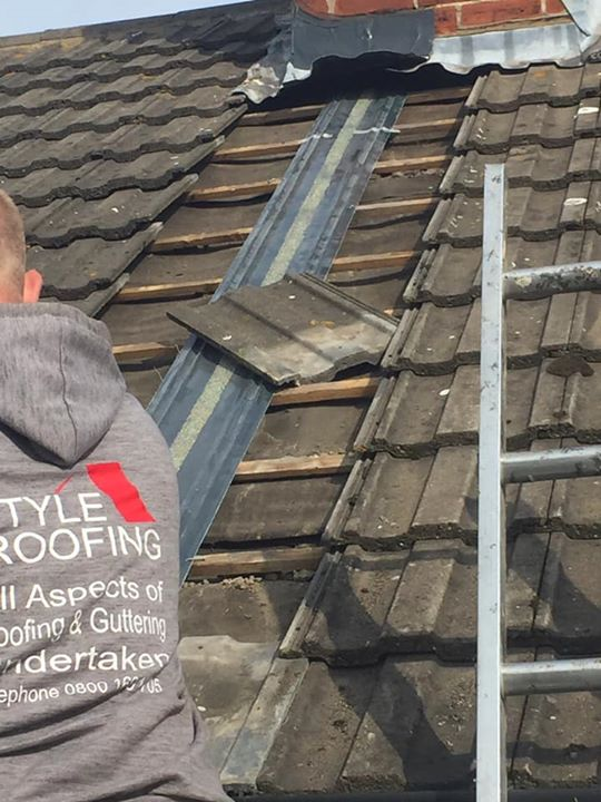 Another busy week for the style roofing boys We are off...