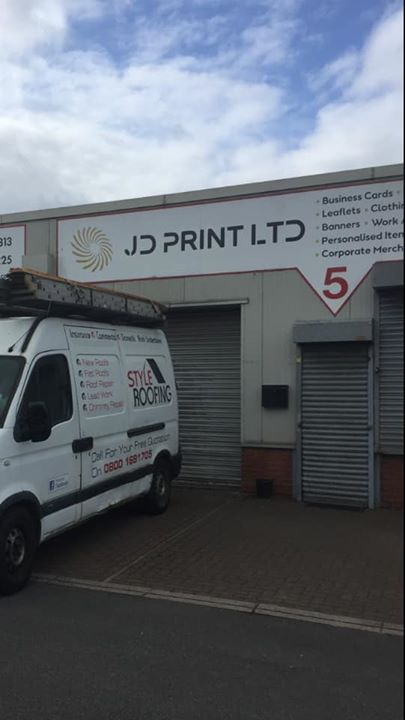 Big thank you to JD Print ltd Thomas Gough Kathryn Dick...